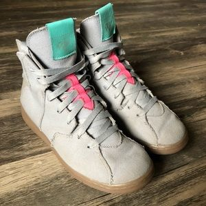 Jordan Westbrook 0.2 GS Gray Aqua Sneakers 6.5Y/8W